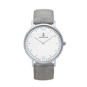 Kapten & Son Analogové hodinky 'Campus'  šedá