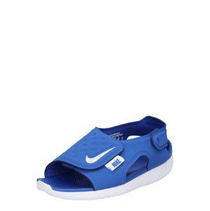 Nike Sportswear Otevřená obuv 'Sunray Adjust 5'  modrá