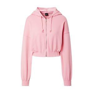 Gina Tricot Mikina s kapucí 'Abigail'  pink