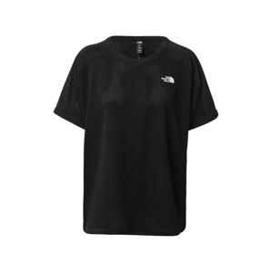 THE NORTH FACE Funkční tričko 'TRAIN'  černá / bílá