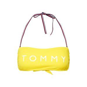 Tommy Hilfiger Underwear Horní díl plavek 'Bandeau RP'  žlutá