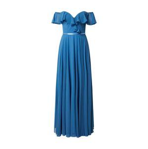 mascara Společenské šaty 'FRILLED'  modrá