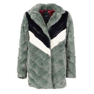 Maze Zimní kabát 'Ladera'  krémová / olivová / černá