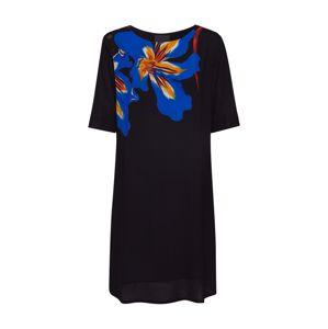 Desigual Letní šaty 'VEST PISTILO'  černá / modrá / oranžová