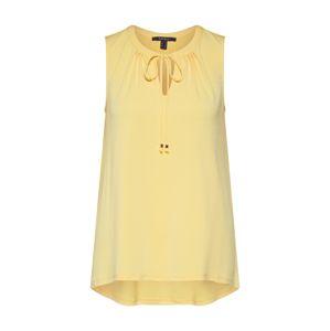 Esprit Collection Top  světle žlutá