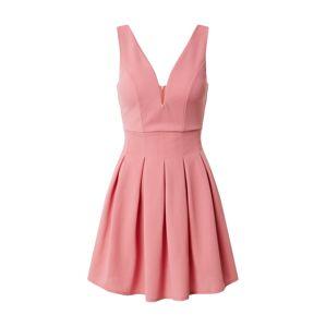 WAL G. Koktejlové šaty  růžová