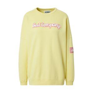 Best Company Mikina  žlutá