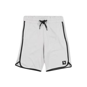 Abercrombie & Fitch Kalhoty  světle šedá / černá