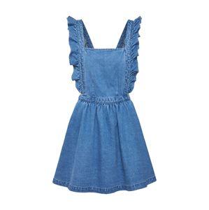 Review Laclová sukně 'CROSSBACK DENIM'  modrá džínovina