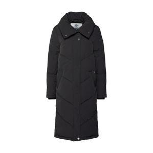 DREIMASTER Zimní kabát 'DREIMASTER DAMEN MANTEL'  černá