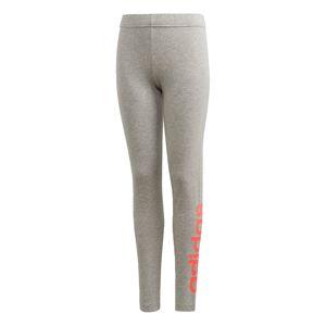 ADIDAS PERFORMANCE Sportovní kalhoty 'Essentials'  šedá / světle červená