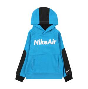 Nike Sportswear Mikina  bílá / černá / tyrkysová
