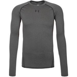 UNDER ARMOUR Funkční tričko 'HeatGear Compression'  šedý melír / tmavě šedá