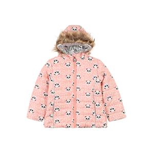 LEMON BERET Zimní bunda  růžová / černá / bílá