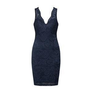 VERO MODA Koktejlové šaty  námořnická modř