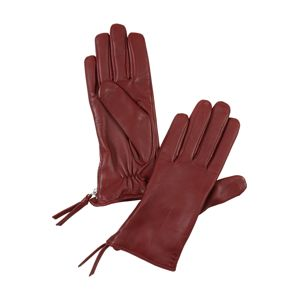 ROYAL REPUBLIQ Prstové rukavice 'Ground '  vínově červená
