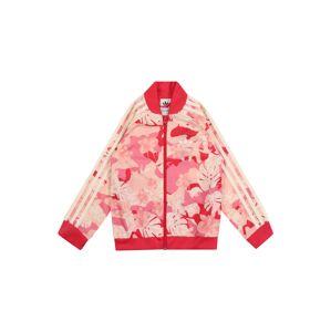 ADIDAS ORIGINALS Mikina  růžová / krémová / malinová / světle růžová