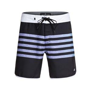 QUIKSILVER Sportovní plavky 'EVERYDAY GRASS ROOTS 17'  modrá / černá / bílá