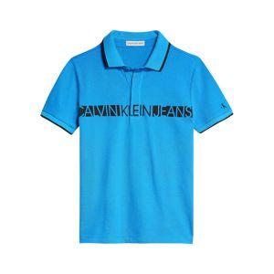 Calvin Klein Jeans Tričko  aqua modrá