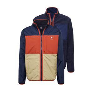 Iriedaily Přechodná bunda 'Rechange'  námořnická modř / tmavě oranžová / písková