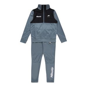 Nike Sportswear Joggingová souprava  černá / nebeská modř