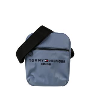 TOMMY HILFIGER Taška přes rameno 'REPORTER'  chladná modrá / černá / bílá / červená