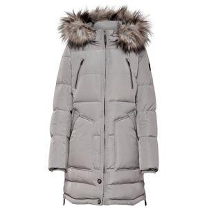 ONLY Zimní kabát  stříbrná