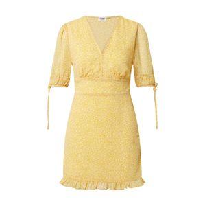 Cotton On Letní šaty 'Sandra'  žlutá / bílá