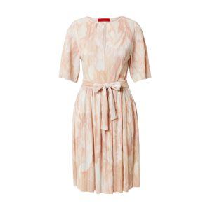 MAX&Co. Šaty 'Prestigi'  růžová / bílá