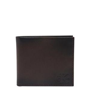 Calvin Klein Jeans Peněženka  tmavě hnědá
