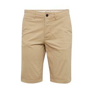 JACK & JONES Chino kalhoty 'JJIENZO JJ WW STS'  béžová