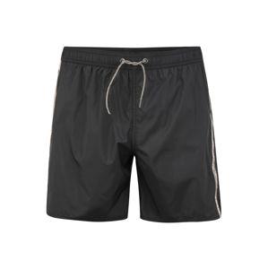 Emporio Armani Plavecké šortky  černá