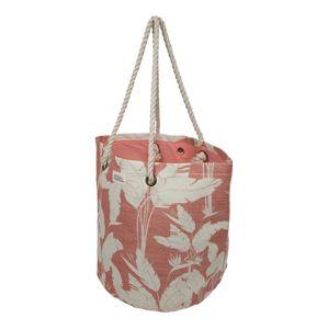 ROXY Plážová taška 'SUNSEEKER J TOTE'  růžová / bílá