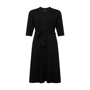 Selected Femme Curve Šaty  černá