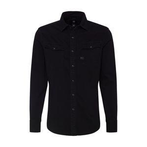 G-Star RAW Košile '3301'  černá džínovina