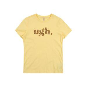 KIDS ONLY Tričko  žlutá