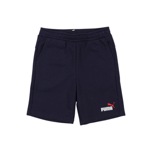 PUMA Kalhoty  námořnická modř / bílá / červená