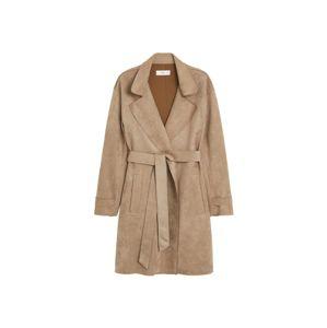 MANGO Přechodný kabát 'Nana'  světle šedá