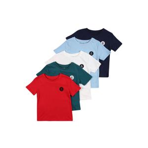 River Island Tričko  červená / petrolejová / bílá / světlemodrá / námořnická modř