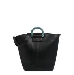 PIECES Nákupní taška 'CILLA'  černá
