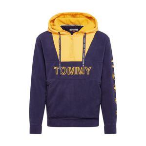 Tommy Jeans Mikina  tmavě modrá / žlutá