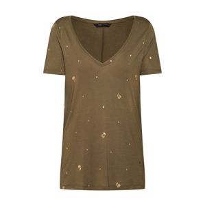 ONLY Tričko 'IRIS'  zlatá / khaki