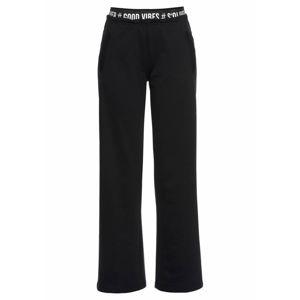 s.Oliver Pyžamové kalhoty  černá