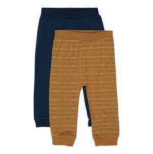 NAME IT Kalhoty 'Laust'  hnědá / tmavě modrá
