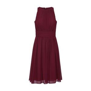 STAR NIGHT Koktejlové šaty 'short dress chiffon'  burgundská červeň