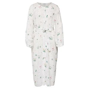 Essentiel Antwerp Košilové šaty 'Tataclean'  mix barev / bílá
