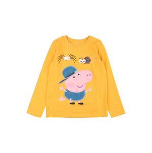 NAME IT Tričko 'Peppa Pig'  zlatá / světle růžová / námořnická modř / černá / mix barev