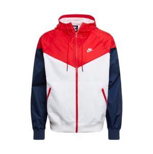 Nike Sportswear Přechodná bunda  námořnická modř / červená
