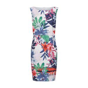 Betty & Co Letní šaty  mix barev / bílá