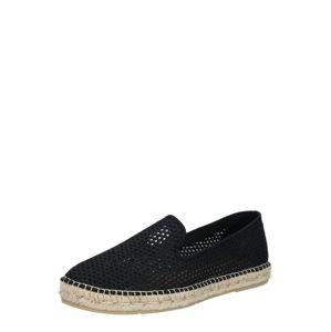 espadrij l´originale Espadrilky 'Loafer'  černá